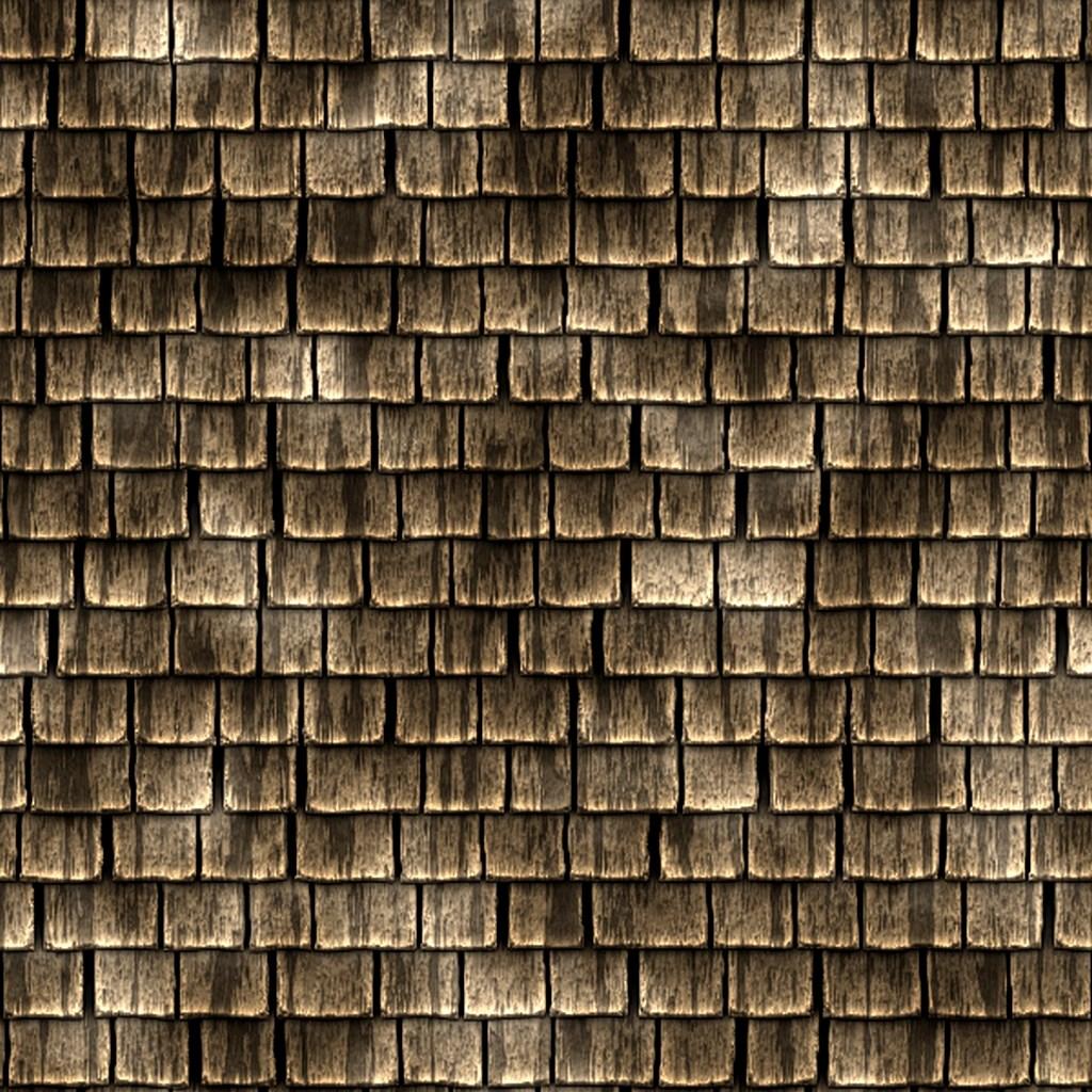 Gisoft Free Textures: Bardeaux de bois pour toiture GRATUIT